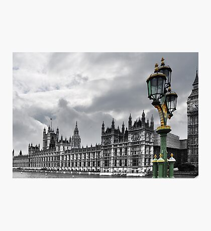 Houses Of Parliament, London Photographic Print
