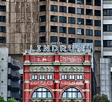 Hotel Lindrum - Old in front of new by JohnKarmouche