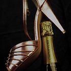 Champagne heel by Sandy Maya Matzen