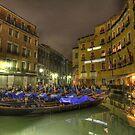 Resting Gondola , Venice, Italy  by chaucheong