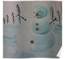 Snowman Snowman Poster