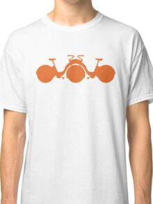 Orange Tricycle Classic T-Shirt
