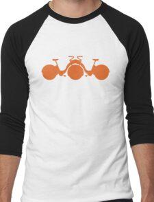 Orange Tricycle Men's Baseball ¾ T-Shirt