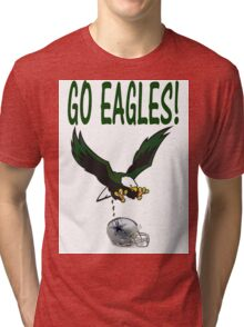Eagles Vs. Dallas Tri-blend T-Shirt