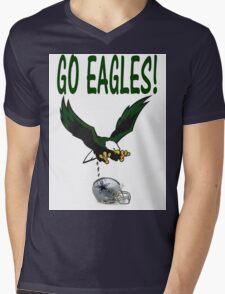 Eagles Vs. Dallas Mens V-Neck T-Shirt