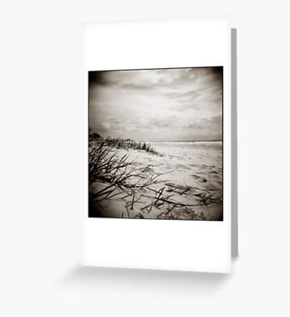 { sun, surf, sand } Greeting Card
