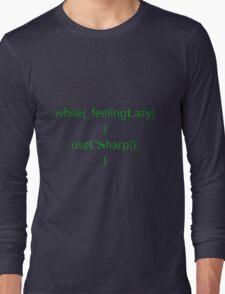 Feeling lazy Long Sleeve T-Shirt