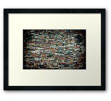 Caracas Ranchos © Framed Print