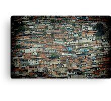 Caracas Ranchos © Canvas Print