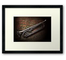 Instrument - Horn - The bugle Framed Print