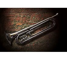 Instrument - Horn - The bugle Photographic Print