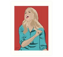 Grace Helbig Portrait Art Print