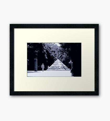 1985 - mathematics Framed Print