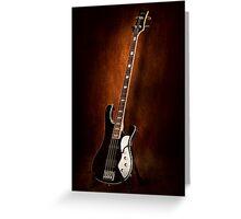 Instrument - Guitar - High strung Greeting Card