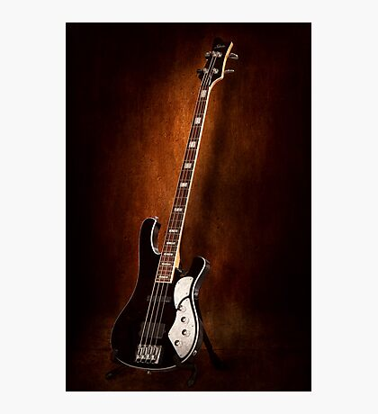 Instrument - Guitar - High strung Photographic Print