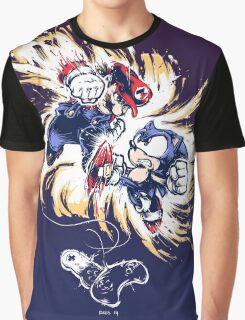 16 Bit Battle Graphic T-Shirt