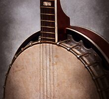 Instrument - String - A typical banjo  by Mike  Savad