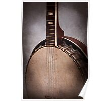 Instrument - String - A typical banjo  Poster