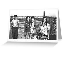 Transylvanian Gipsies Greeting Card