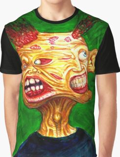 SPLIT COLOR Graphic T-Shirt