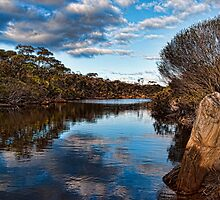 The Gairdner River in Fitzgerald River NP  by Andy and Von Quinn