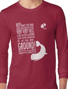 Panicking  Long Sleeve T-Shirt