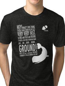 Panicking  Tri-blend T-Shirt