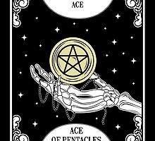 Ace Of Pentacles by natashasines