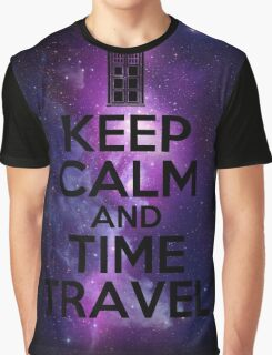 Keep calm and time travel Graphic T-Shirt