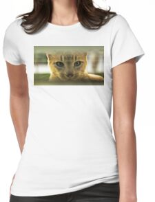Community Cat Womens Fitted T-Shirt