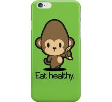 Farm Babies - Eat healthy. iPhone Case/Skin
