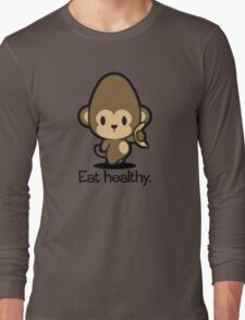 Farm Babies - Eat healthy. Long Sleeve T-Shirt