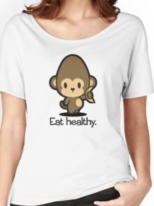 Farm Babies - Eat healthy. Women's Relaxed Fit T-Shirt