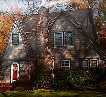 Cottage -  Cranford, NJ - Autumn Cottage  by Mike  Savad