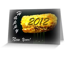 Happy New Year 2012! Greeting Card