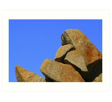 Granite Rocks Art Print