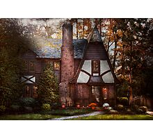 Cottage - Westfield, NJ - A place to retire Photographic Print