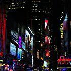 Neon Nights by Barbara  Brown