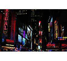 Neon Nights Photographic Print