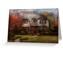 Cottage - Westfield, NJ - The country life Greeting Card