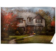 Cottage - Westfield, NJ - The country life Poster