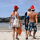 Christmas On The Beach by coffeebean