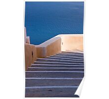 Steps Down To The Aegean Poster