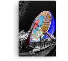 Edinburgh Big Wheel Canvas Print