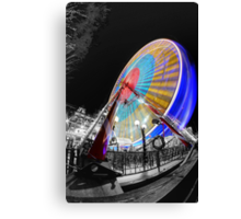 Edinburgh Big Wheel Canvas Print