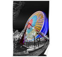 Edinburgh Big Wheel Poster