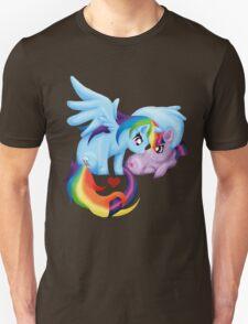 RainbowxTwilight Shirt  T-Shirt