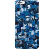 Blue Blade Abstract iPhone Case/Skin