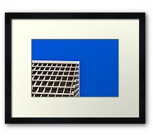 building SKY Framed Print