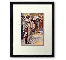 """Cinderella"" by Charles Robinson Framed Print"